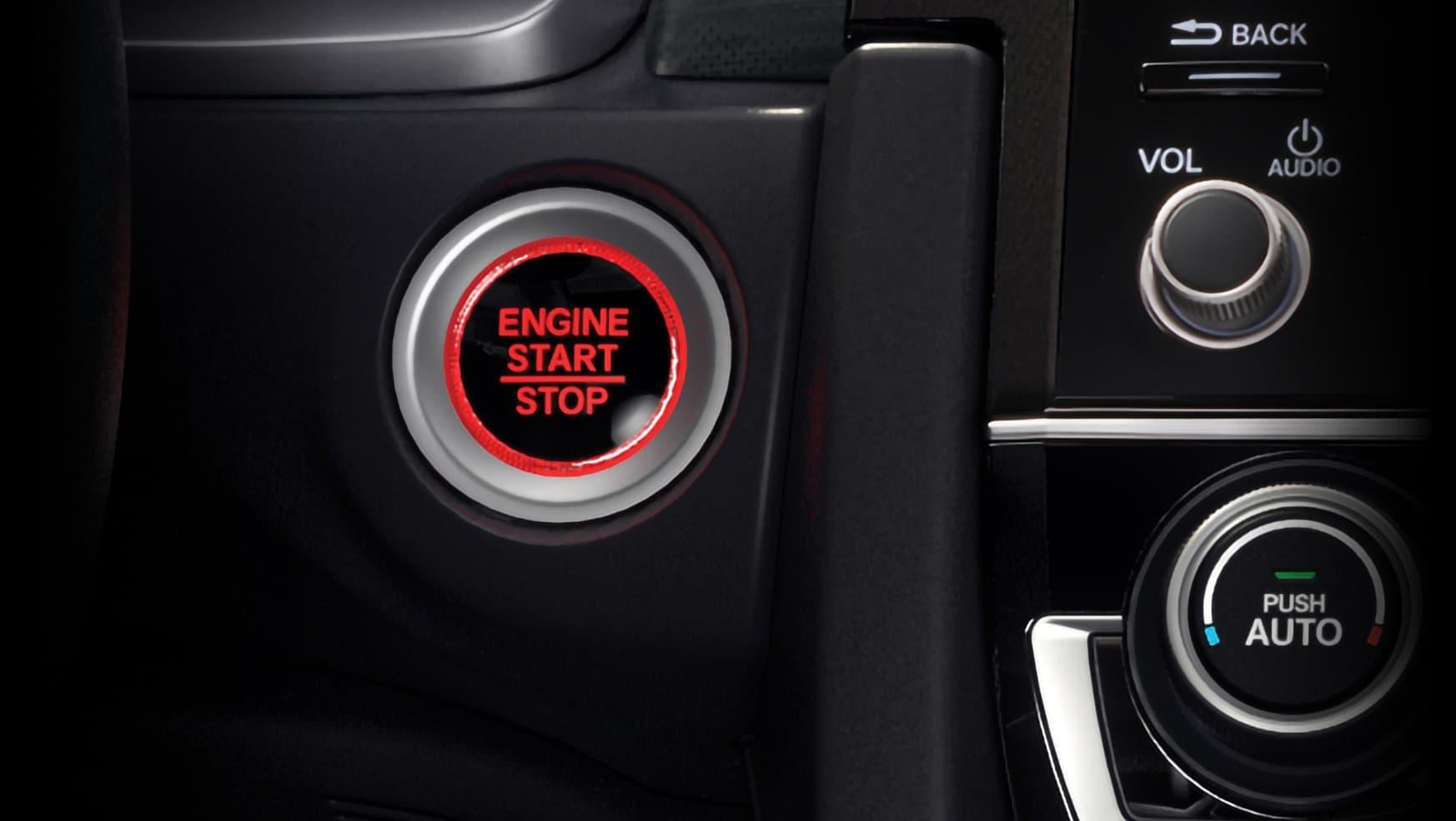 Botón de Encendido y Apagado del Motor
