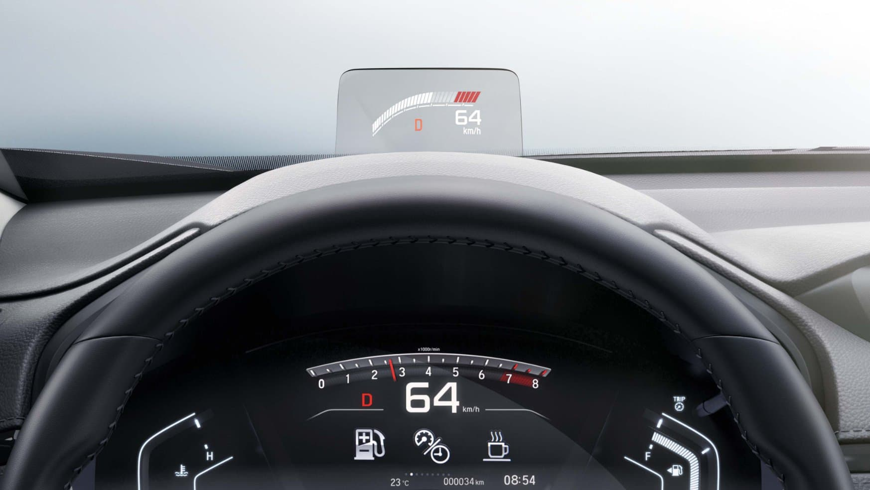 Head-Up Display<br>HUD