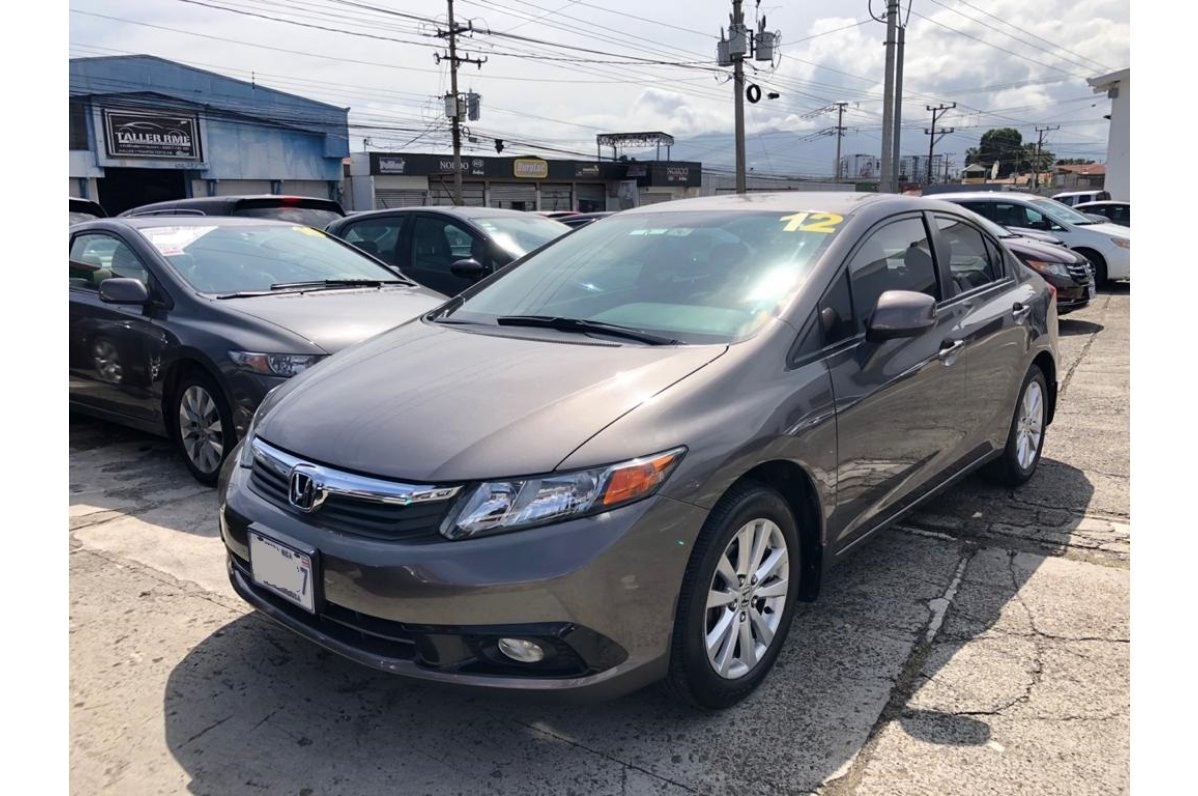 Honda CIVIC - LX - COD. 369 2012